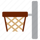 ball, basket, ring, study icon