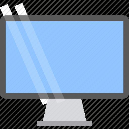 computer, display, monitor icon