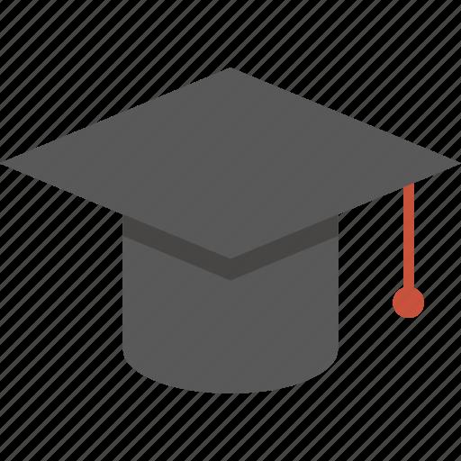 cap, mortarboard, study icon