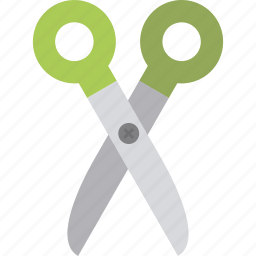 accessories, cut, scissors icon