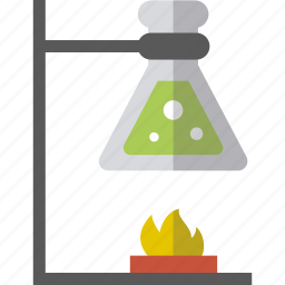 accessories, bulb, chemistry, experiment icon