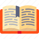 book, open, write icon