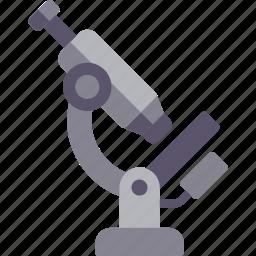 accessories, experiment, microscope icon