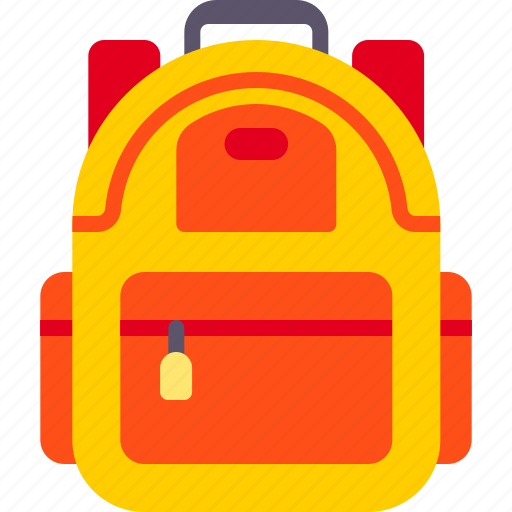 accessories, backpack, bag icon