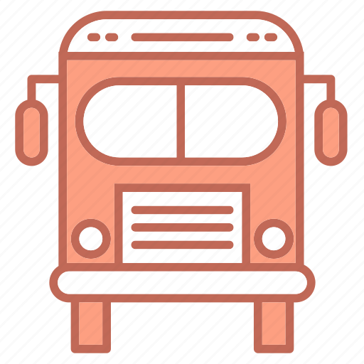 bus, education, study, transport icon