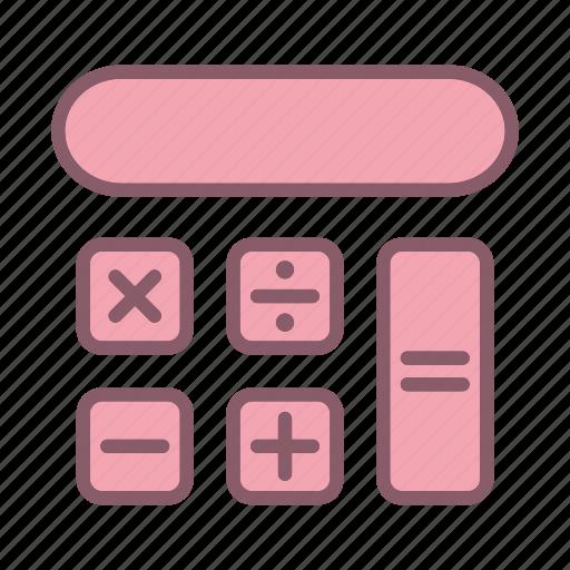 calculator, education, finance, learn, study icon