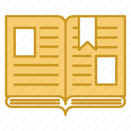 book, education, open, study icon