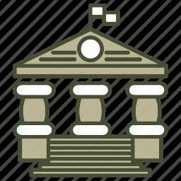 building, education, study, univ icon