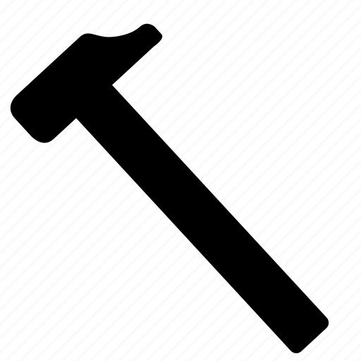 claw, hammer, instrument, school icon