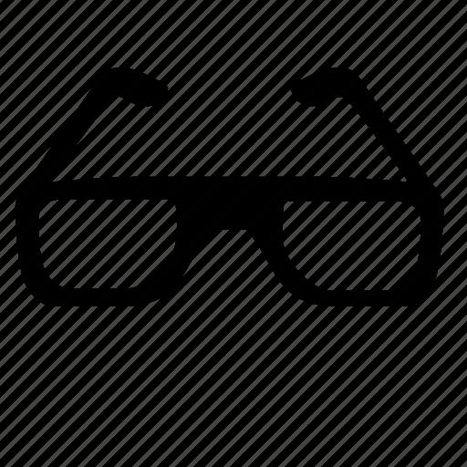 eye, glasses, read, school, study icon