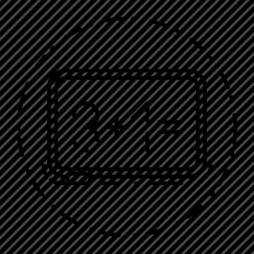 blackboard, board, education, presentation, report icon