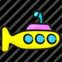 defense vessel, sea vehicle, submarine vehicle, travel, underwater vehicle