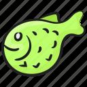 aquatic animal, fish, marine animal, sea creature, seafood, tropical fish icon