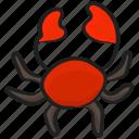 aquatic animal, bellyacher, crab, decapod crustaceans, marine animal, sea creature, seafood