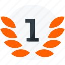 achievement, award, badge, best, first, medal, prize, winner icon icon