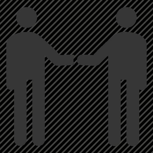 agreement, business deal, businessman, gesture, handshake, partnership icon