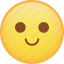 emoji, emoticon, slight, smile, smiley icon