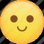 emoji, emoticon, slight, smile, smiley icon