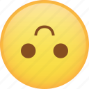 emoji, emoticon, flip, smile, smiley icon