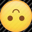 emoji, emoticon, flip, smile, smiley