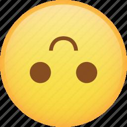 emoji, emoticon, flip, smile, smiley icon