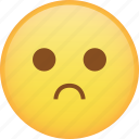 emoji, emoticon, sad, sadness, smiley icon