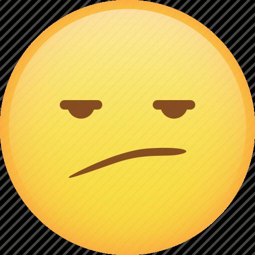 emoji, emoticon, envy, smiley, smirk icon