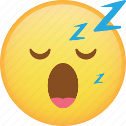 emoji, emoticon, night, sleep, sleepy, smiley icon