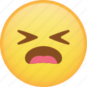 emoji, emoticon, hurt, sad, sick, smiley icon