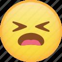 emoji, emoticon, hurt, sad, sick, smiley