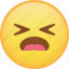 emoji, emoticon, hurt, sad, sick, smiley icon
