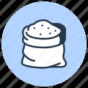 bag, sugar, wholesale icon