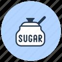 baking, bowl, sugar icon
