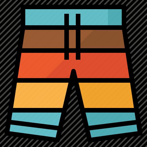 board, short, summer, swimming icon
