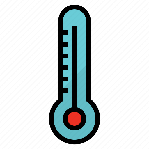 climate, hot, thermometer, weather icon