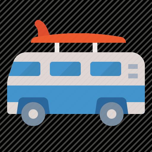camper, caravan, travel, van icon