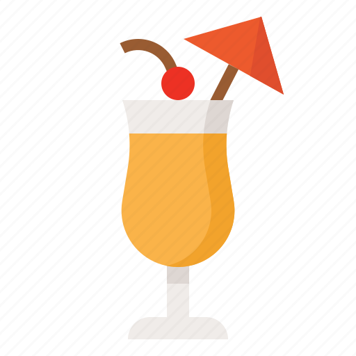 beverage, cocktail, drink, pineapple icon