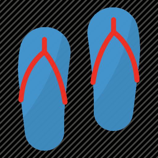 flip, flops, sandals, summer icon
