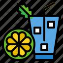 citrus, fresh, fruit, juice, lemon icon