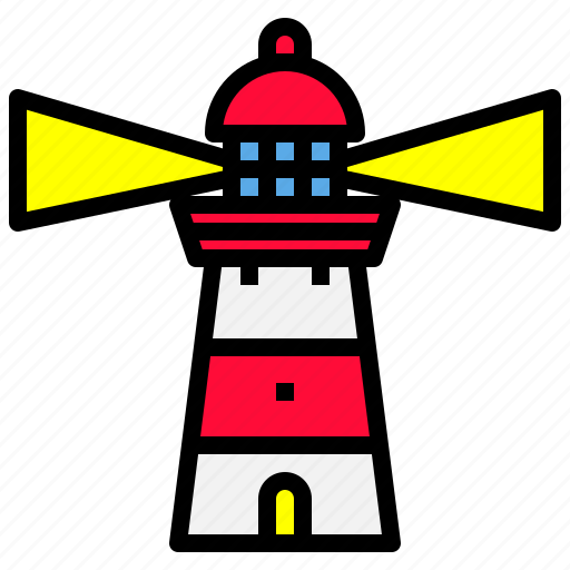 Building, light, lighthouse, ocean, sea icon - Download on Iconfinder