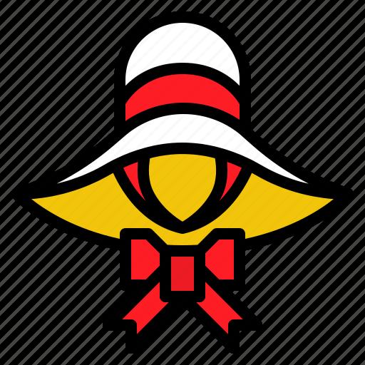 Fashion, hat, summer, sun, vintage icon - Download on Iconfinder