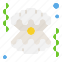 diving, ocean, pearl, sea, seashell icon