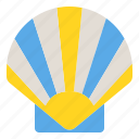 food, scallop, sea, seafood, shellfish icon