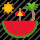 food, fruit, red, sweet, watermelon