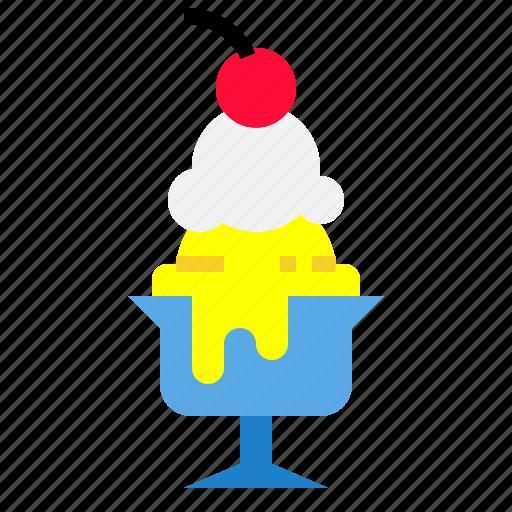 dessert, food, icecream, summer, sweet icon