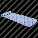 fabric roll, floor mat, gym mat, mat, sleeping mat