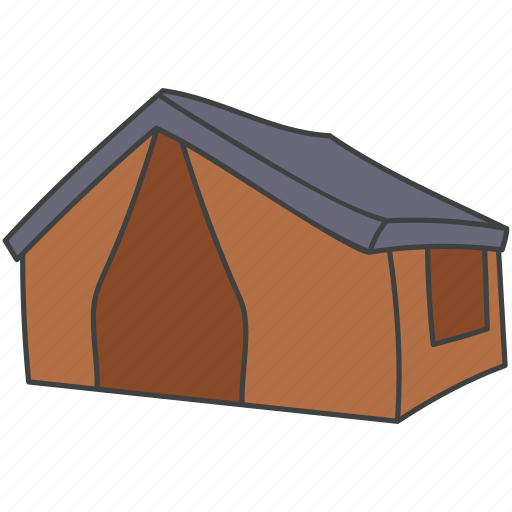 adventure, camp, camping, holiday, hut, tent icon
