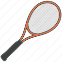 badminton, sports equipment, tennis, racquet, squash racquet icon