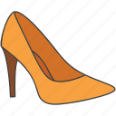 accessory, female shoes, formal shoes, heels, ladies shoes icon