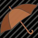beach, parasol, sun protection, sunbed, umbrella icon